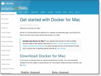 https://docs.docker.com/docker-for-mac/